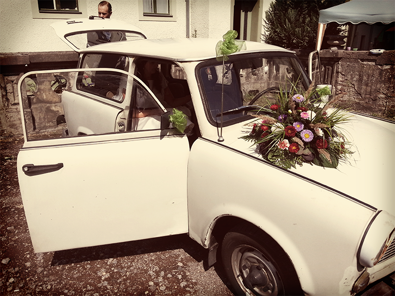 Maries und Tims Hochzeit